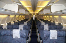 Boeing-737-400 salon view